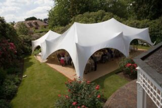medium marquee for wedding hire Oxford Tent Company