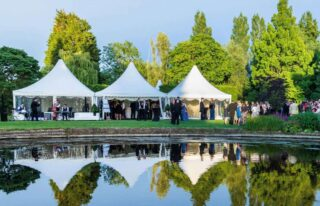Pagoda-chinese-hat-marquee Oxford Tent Company Oxford Tent Company