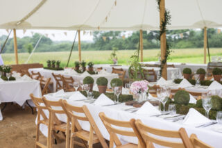Choosing a marquee wedding event Oxford Tent Company