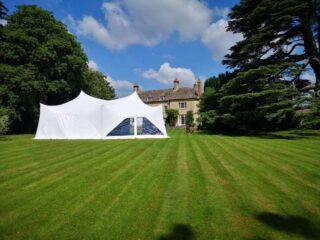 28ft by 38ft Marquee Birthday Oxford Tent Company