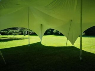 28ft by 38ft Marquee hire party Oxford Tent Company