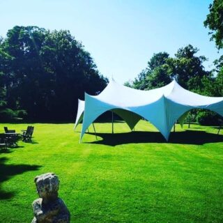 28ft by 38ft Marquee wedding Oxford Tent Company