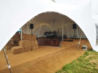 marquee Birthday with Music Oxford Tent Company