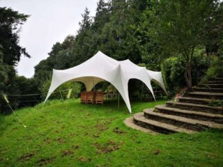 20ft 30 ft lunch marquee Oxford Tent Company