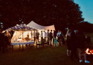 20ft by 20ft Marquee Party Tent Oxford Tent Company